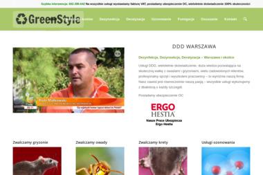 GreenStyle - Osuszanie Warszawa