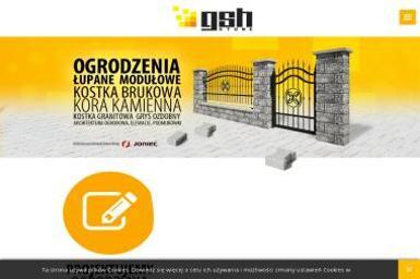 GSH Stone - Sprzedaż Kostki Granitowej Szczecin
