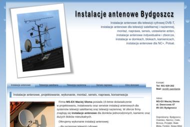 MS-EX - Montaż Anteny Satelitarnej Bydgoszcz