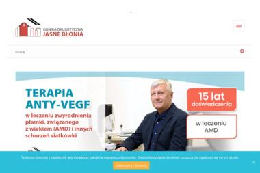 """Klinika Okulistyczna """"Jasne Błonia"""" Sp. z o. o. - Okulista Łódź"""