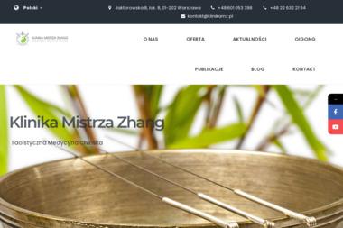 Klinika Mistrza Zhang - Akupunktura Warszawa