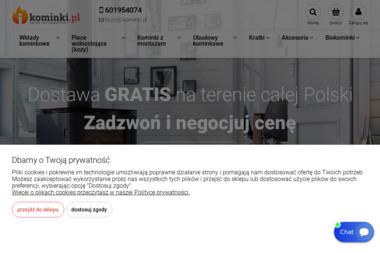 Kominki - Impresja - Kominki z Płaszczem Wodnym Lublin
