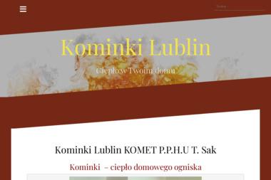 KOMET P.P.H.U - Kominki z Płaszczem Wodnym Lublin