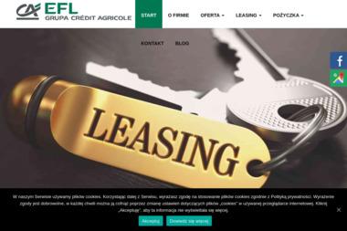 Europejski Fundusz Leasingowy SA Autoryzowany Przedstawiciel - Leasing maszyn i urządzeń Toruń