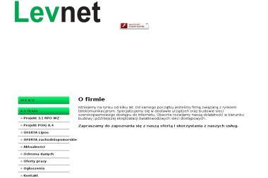 Levnet - Internet Lipno