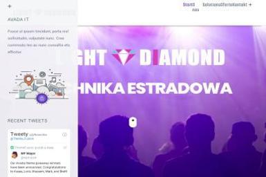Light Diamond - Wynajem Nagłośnienia Zamość