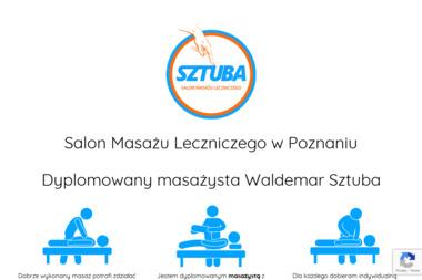 Salon Masażu Leczniczego Waldemar Sztuba - Fizjoterapeuta Poznań