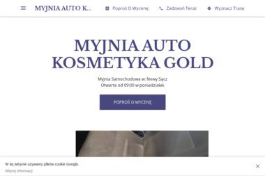 MYJNIA AUTO KOSMETYKA GOLD - Myjnie Nowy Sącz