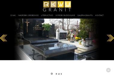 RK-WU GRANIT - Kamieniarstwo Pszczółki