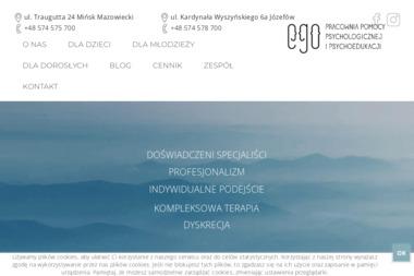 Pracownia Pomocy Psychologicznej EGO - Psycholog Mińsk Mazowiecki