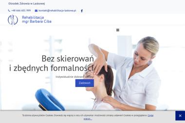 Rehabilitacja Barbara Ciba - Masaże Lomi Lomi Laskowa