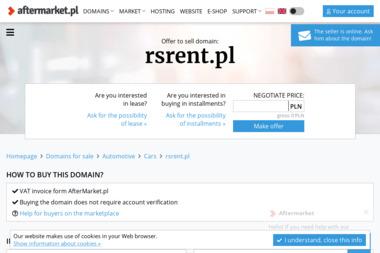 RSrent.pl - Wypożyczalnia samochodów Mińsk Mazowiecki