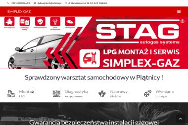 SIMPLEX GAZ - Montaż Gazu Piątnica