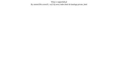 SupportLAB Dawid Widuch - Programista Lubecko