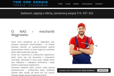 TOM CAR SERWIS - Elektryk samochodowy Wągrowiec