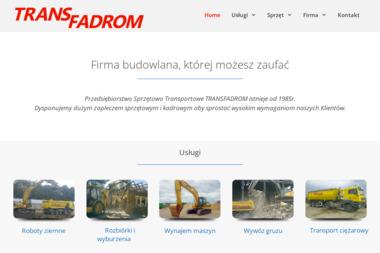 TRANS FADROM - Nawierzchnie Poznań