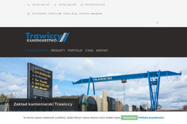 Trawiccy Kamieniarstwo - Nagrobki Kaliska