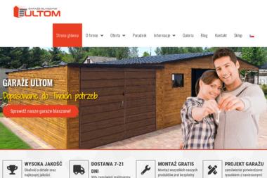 ULTOM - Garaże blaszane Częstochowa