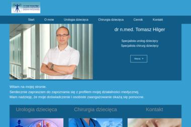 HILGER TOMASZ dr n.med. specjalista urolog dziecięcy i chirurg dziecięcy - Chirurg Grudziądz