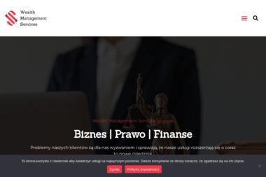 Wealth Management Services - Pisma, wnioski, podania Białystok