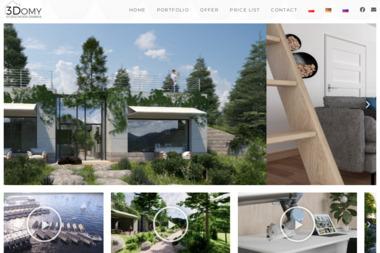 3Domy - studio modelowania - Projekty Domów Jednorodzinnych Białystok