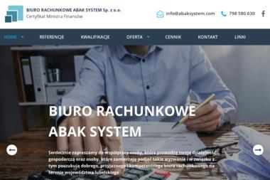 BIURO RACHUNKOWE ABAK SYSTEM Sp. z o. o. - Doradca podatkowy Lublin