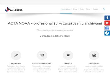 Acta Nova Sp. z o. o. - Niszczenie dokumentów Szczecin