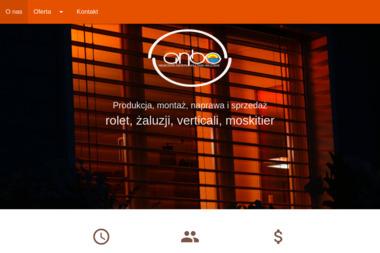 ANBO - Żaluzje, moskitiery Toruń
