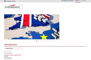 Andersen Tax & Legal - Doradca Podatkowy Toruń