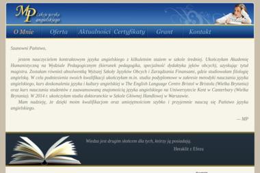 MP - nauka języka angielskiego - Nauka Angielskiego Płońsk