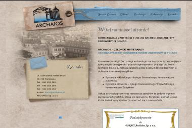 Archaios - Renowacja Kościołów Warszawa
