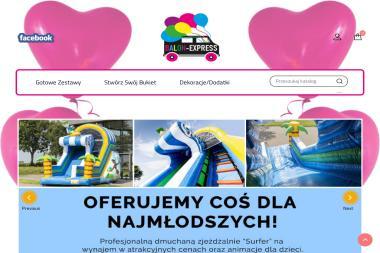 Balon Express - Balony z helem Nowy Sącz