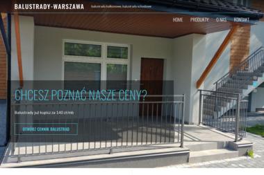 Balustrady Warszawa - Balustrady nierdzewne Włodawa