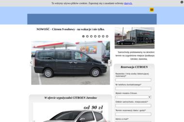 Auto Centrum J&W Kwiecień - Wypożyczalnia samochodów Jarosław