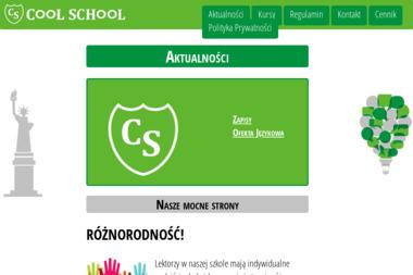 COOL SCHOOL - Szkoła językowa Bochnia