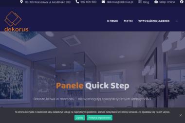 PHU DEKORUS - Płytki Warszawa