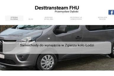 DestTransTeam FHU - Wynajem Aut Zgierz