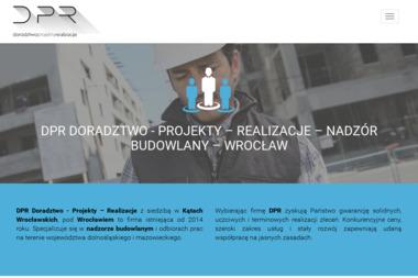 DPR DORADZTWO - PROJEKTY - REALIZACJE - Kosztorysowanie Kąty Wrocławskie