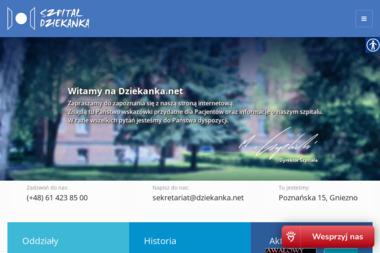 Wojewódzki Szpital dla Nerwowo i Psychicznie Chorych DZIEKANKA im. Aleksandra Piotrowskiego - Neurolog Gniezno