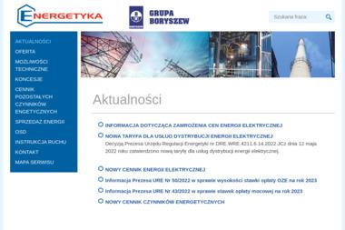 Elana-Energetyka Sp. z o.o. - Zaopatrzenie w energię elektryczną Toruń
