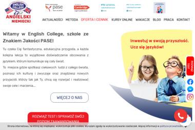 ENGLISH COLLEGE - Język Angielski Kozienice