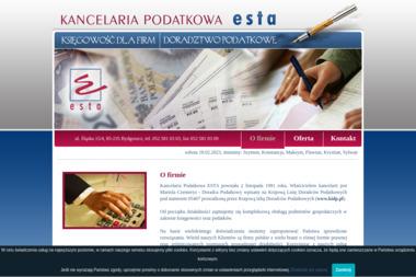 Kancelaria Podatkowa ESTA - Doradca podatkowy Bydgoszcz