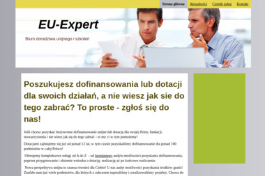 EU-Expert - Dotacje unijne Wodzisław Śląski