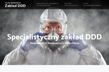 Specjalistyczny Zakład DDD Jacek Grzegorski - Dezynsekcja i deratyzacja Kiełczewo