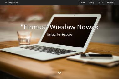 """""""Firmus"""" Wiesław Nowak - Prowadzenie Ksiąg Rachunkowych Poznań"""