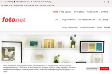 Laboratorium Fotografii Cyfrowej FOTONET - Sesje zdjęciowe Tychy