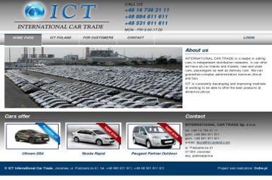 INTERNATIONAL CAR TRADE - Wypożyczalnia samochodów Jarosław