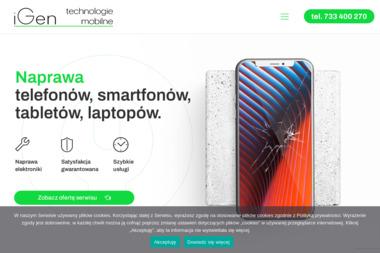 iGen - Serwis komputerów, telefonów, internetu Lublin