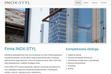 INOX-STYL - Balustrady Metalowe Jasło