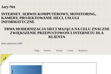 Jary-Net - Internet, Hosting, Domeny Bydgoszcz